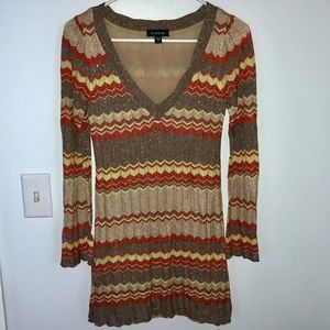 Bebe Sweater Mini Dress
